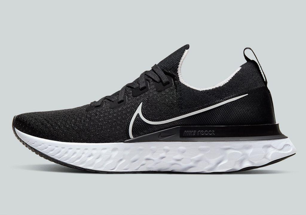 Nike React Infinity Run เผยโฉมเพิ่มอีก 3 สี แดง ดำ และ เทา