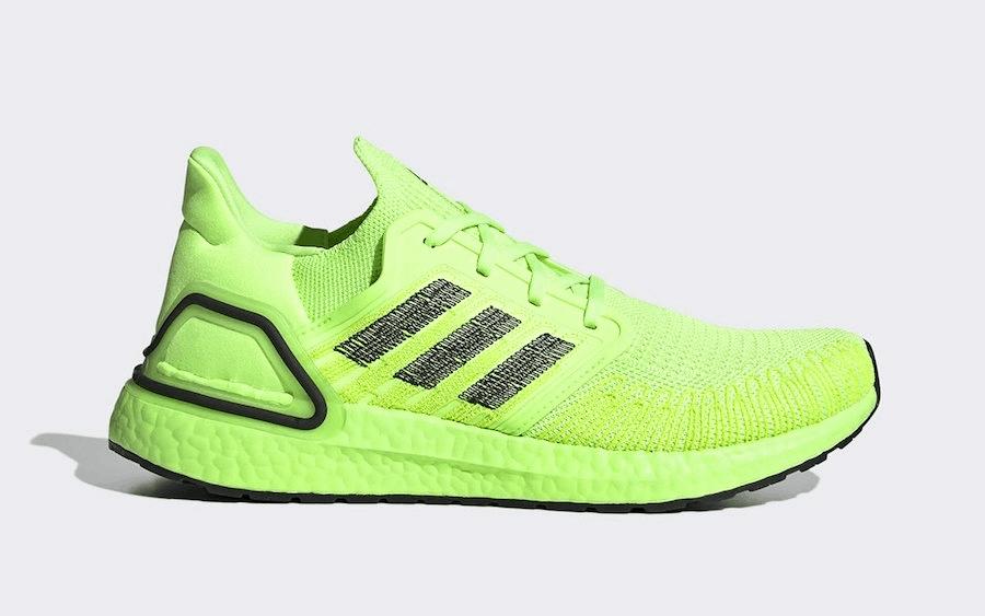 """adidas Ultraboost 20 สีเขียว """"Volt"""""""