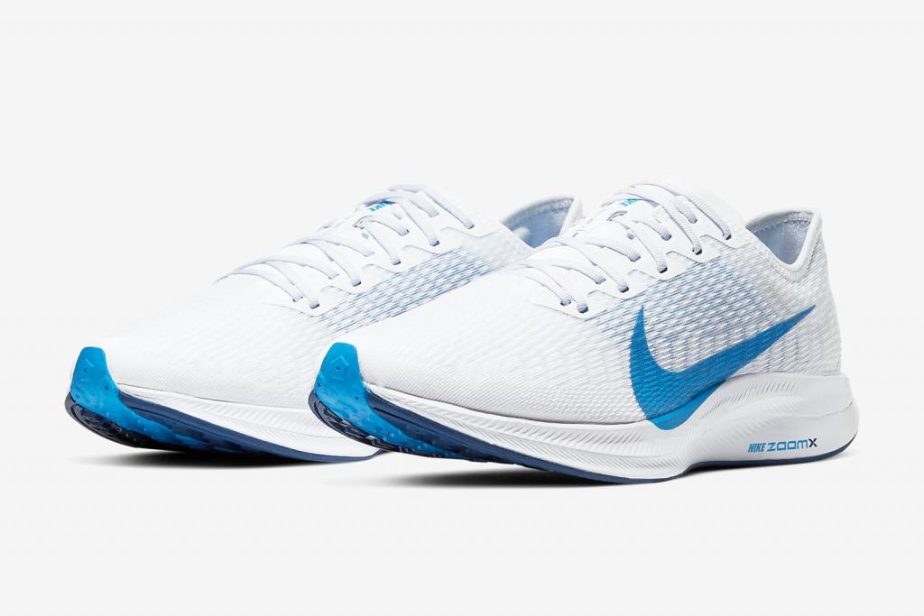 Nike Zoom Pegasus Turbo 2 สีขาวฟ้า