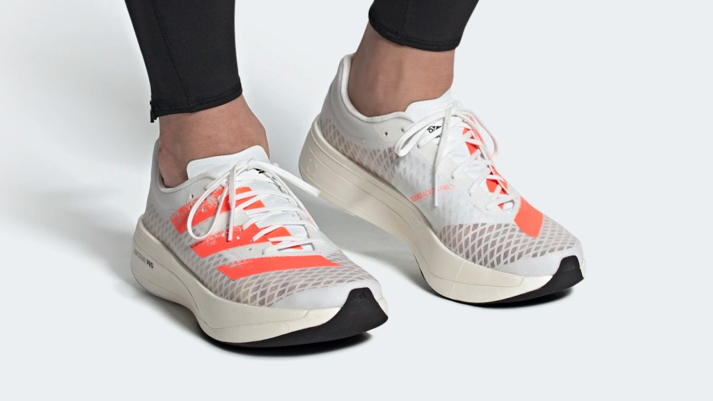 adidas Adizero Adios Pro รองเท้าวิ่งเรซซิ่งพื้นหนารุ่นใหม่ เผยโฉมบนเว็บไซต์อาดิดาส