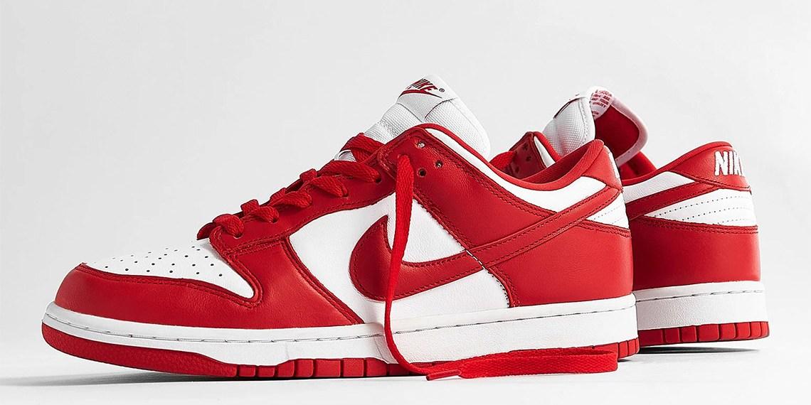 "Nike Dunk Low ""University Red"" วางจำหน่ายในไทย 12 มิ.ย. นี้"