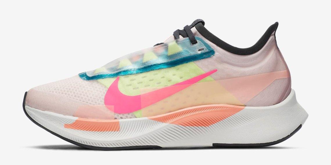 "Nike Zoom Fly 3 Premium ""Barely Rose"" สีสันสดใส วางจำหน่ายในไทยแล้ว"