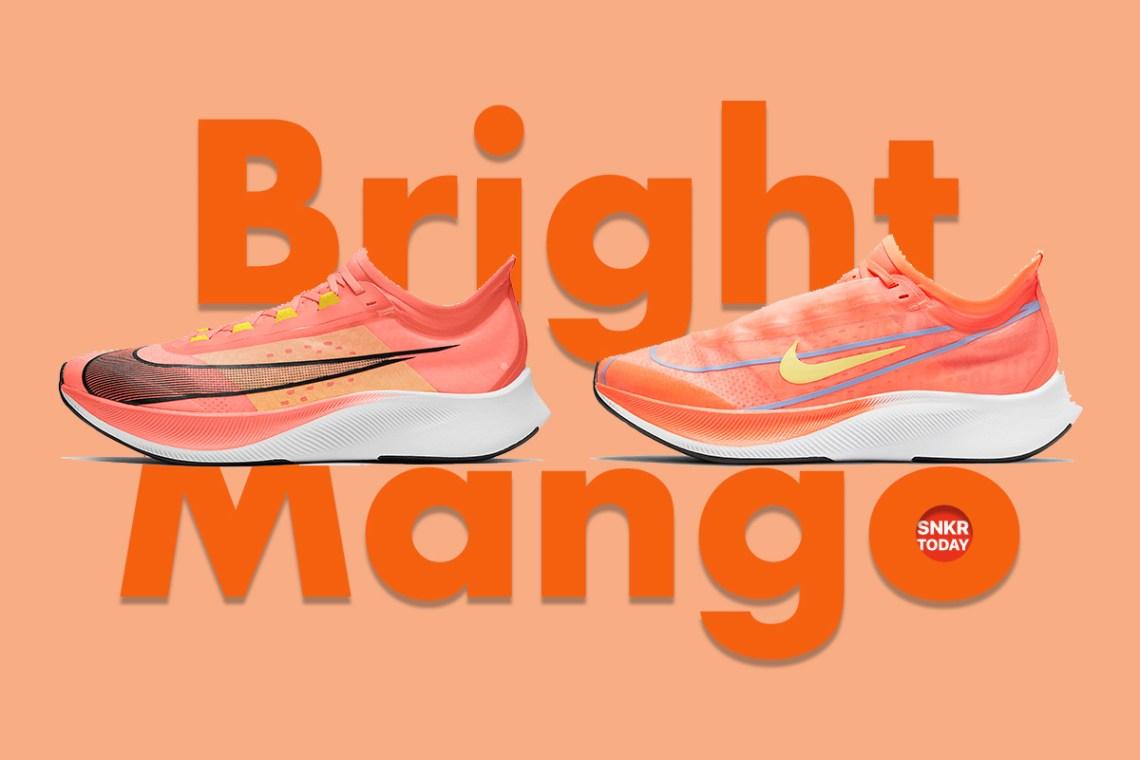 "Nike Zoom Fly 3 ""Bright Mango"" วางจำหน่ายในไทยแล้ว"