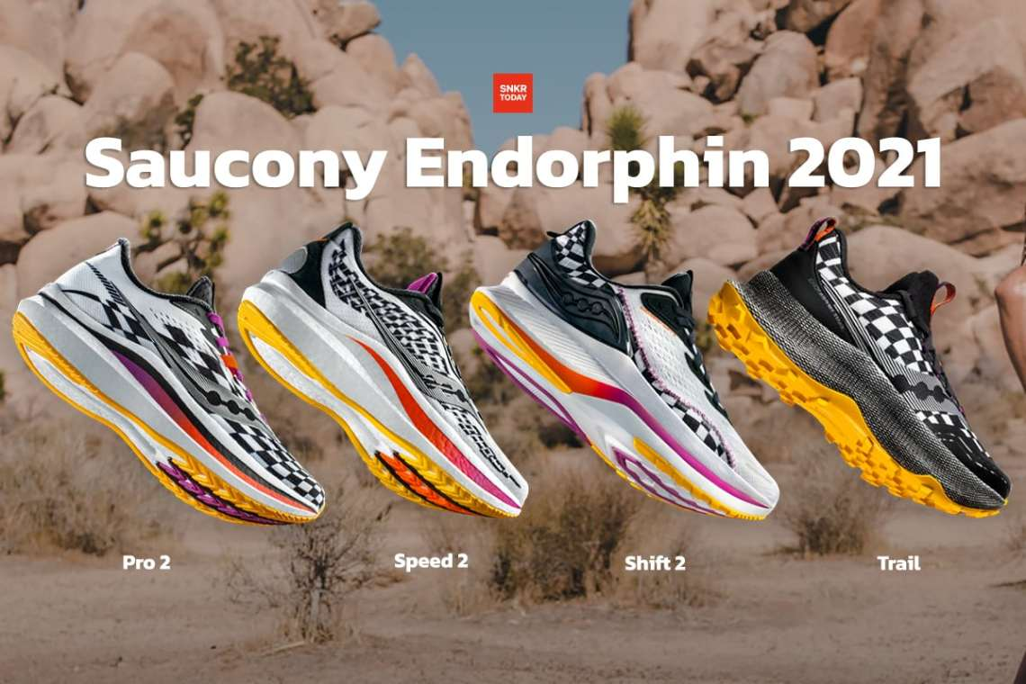 Saucony Endorphin 2021 Collection