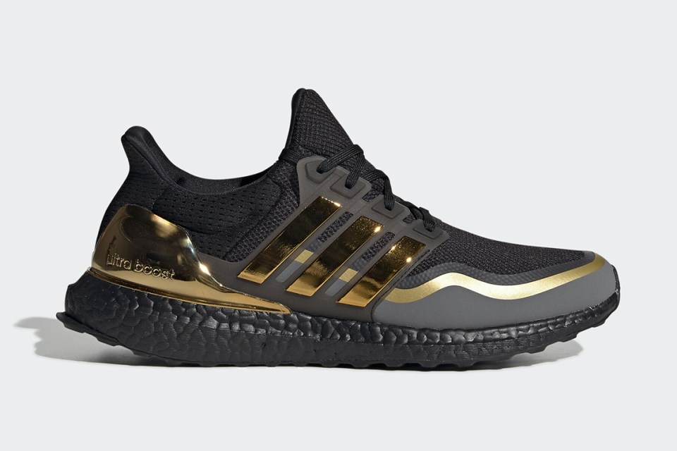 adidas Ultra Boost Metallic Gold
