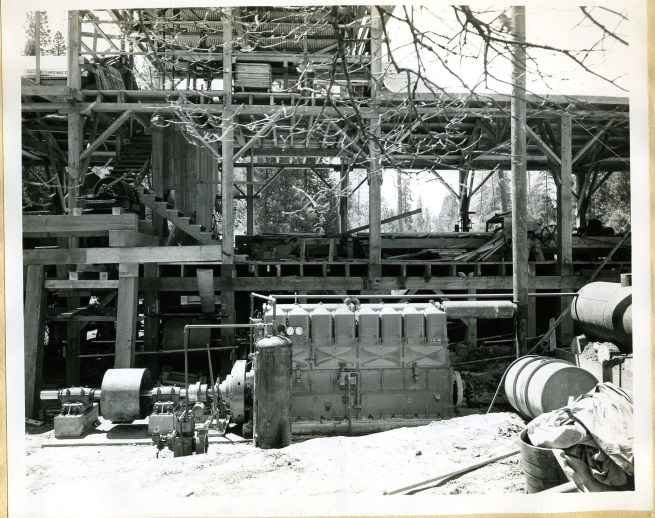 Diesel Power for WP mill