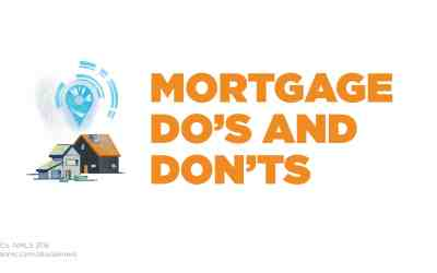 Mortgage do's and don'ts
