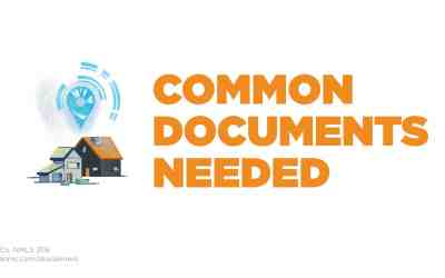 Common loan documents needed prior to closing your loan