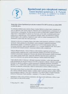 Stanovisko výboru Společnosti pro návykové nemoci ČLS JEP k návrhu na snížení DPH u sudového piva