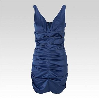 Ruched Party Dress