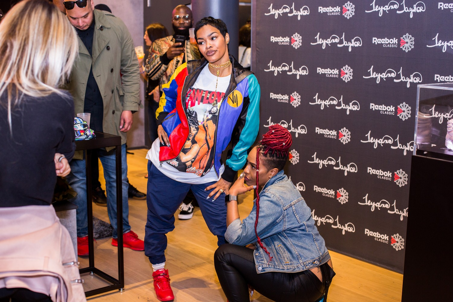 Teyana Taylor Visits New York to Celebrate Reeboks