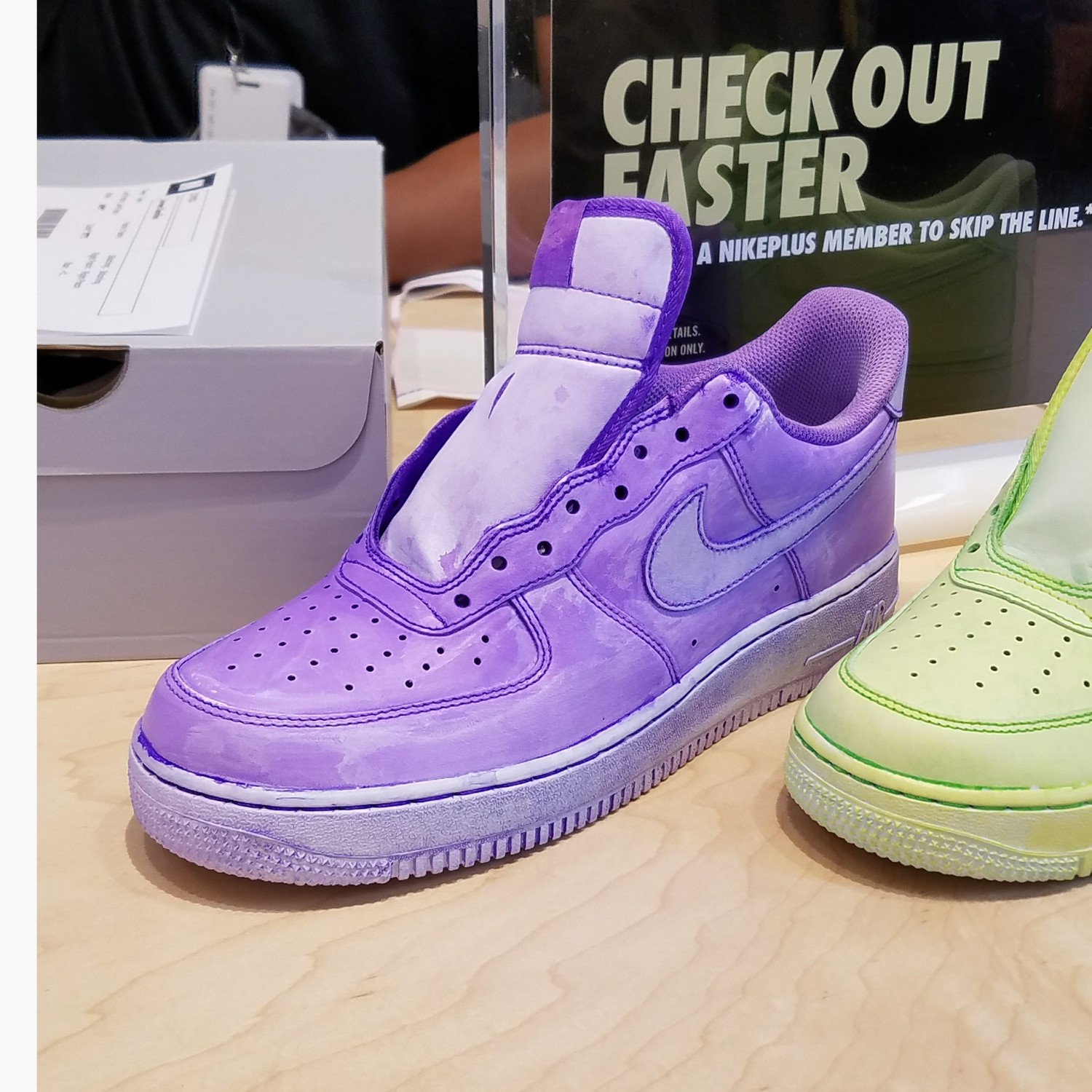 Nikes SoHo Stores Customization Studio For Air Force 1 Shoes And Apparel
