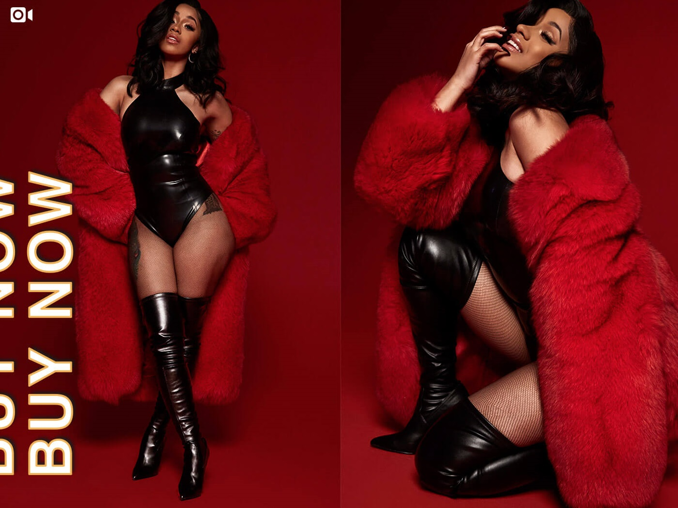 Cardi B Provides Style Tips In Curated By Cardi B Steve