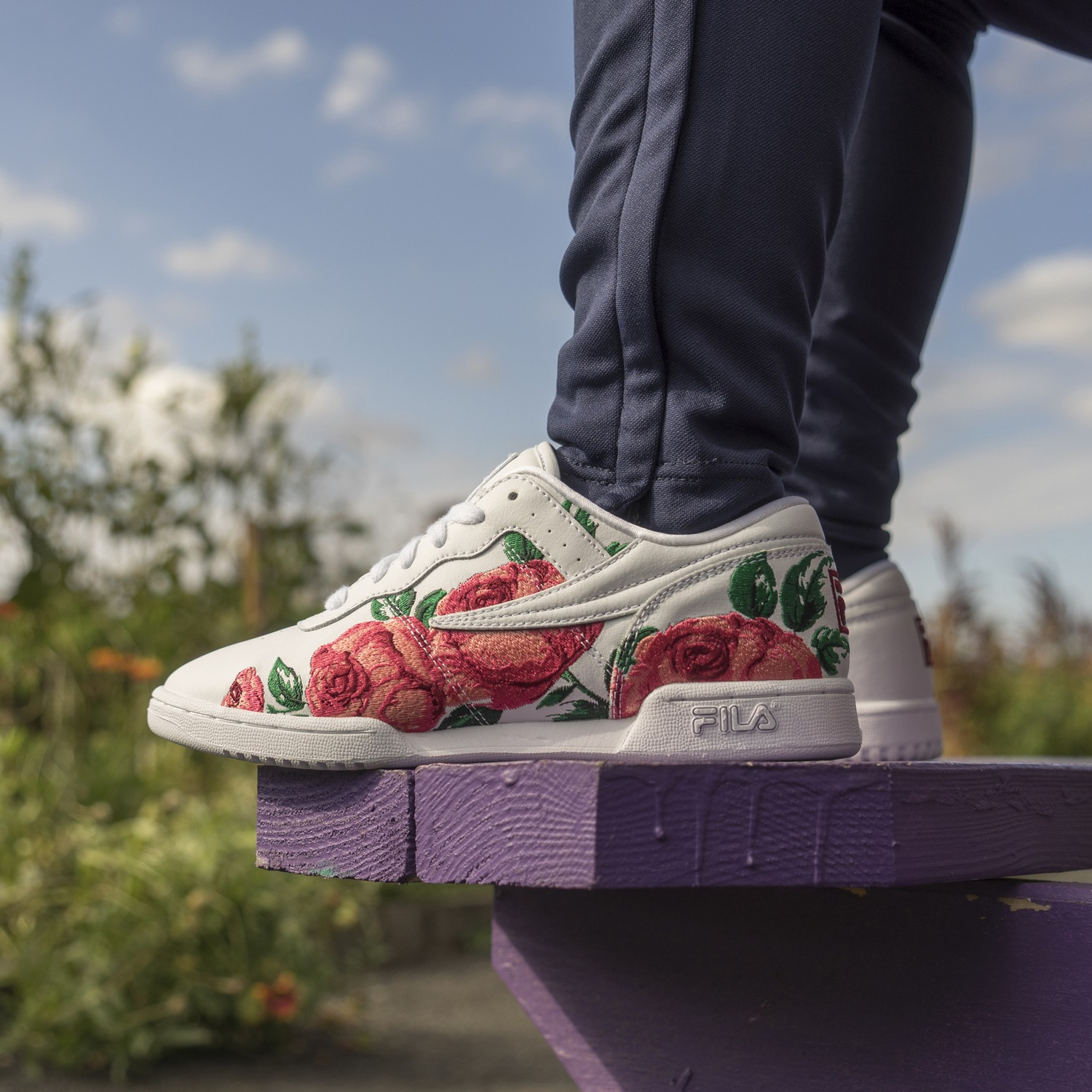 Fila Looks To Spring With Embroidered Original Sneaker And