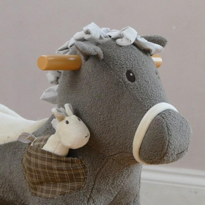 chidrens rocking horse personalised