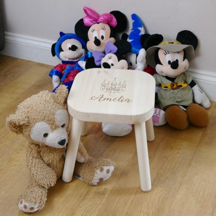 Personalised childrens stool unisex