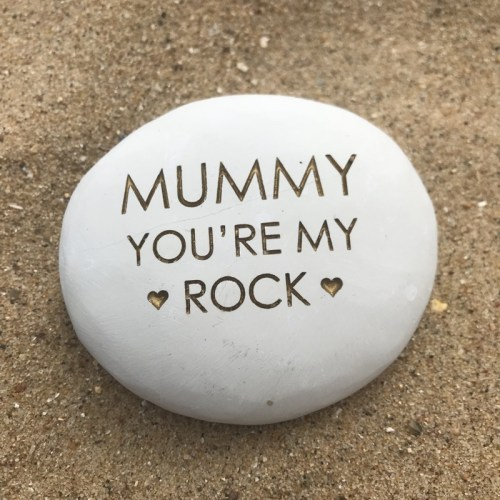 Mummy pebble