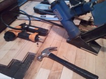 Possible Tools to install new floor.