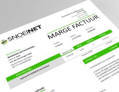 uitleg factuur Uitleg: Wat is een marge factuur? | SNOEI.NET