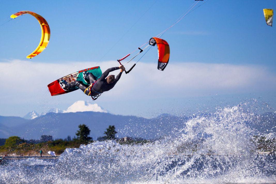 Port of Everett kiteboarding
