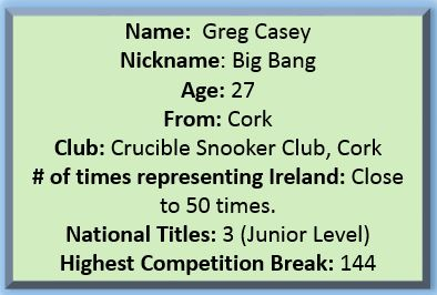 Profile Greg Casey