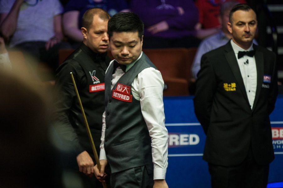 Ding Junhui Nears Defeat
