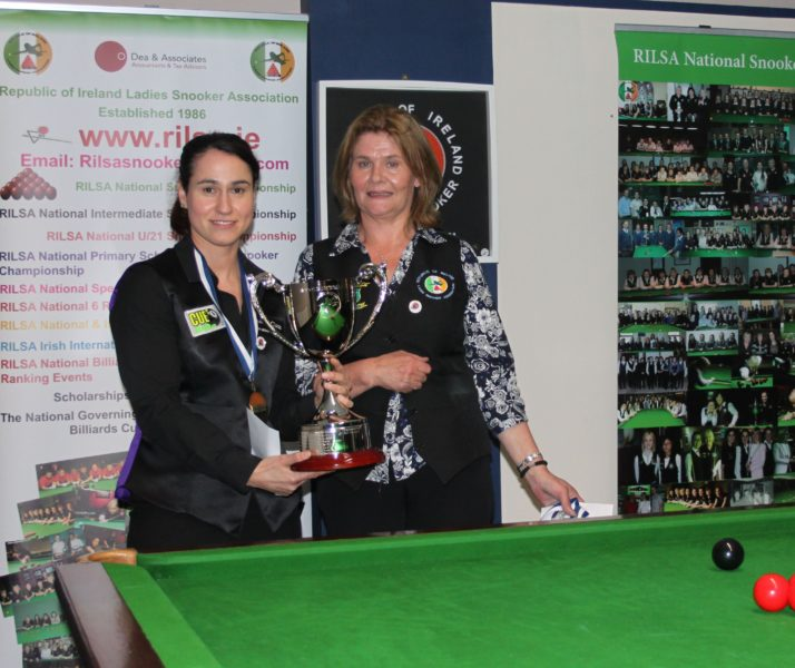 Paula Judge Retains RILSA National Championship