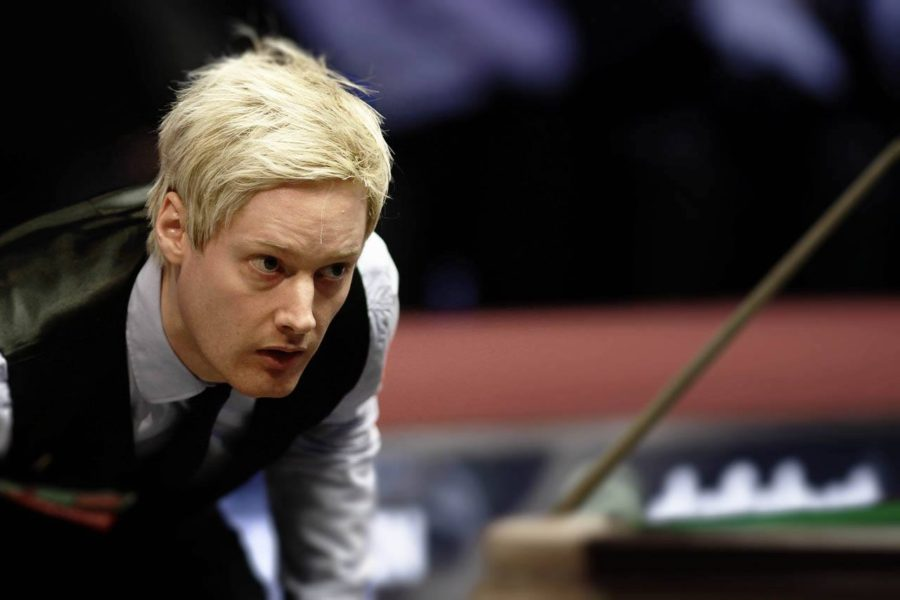 Neil Robertson Continues Form