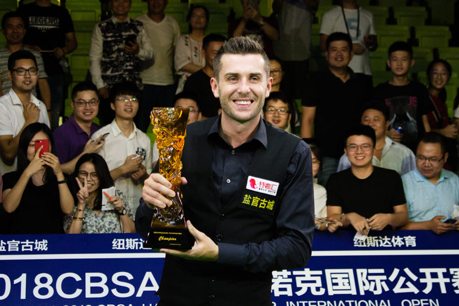 Mark Selby Defends Haining Open