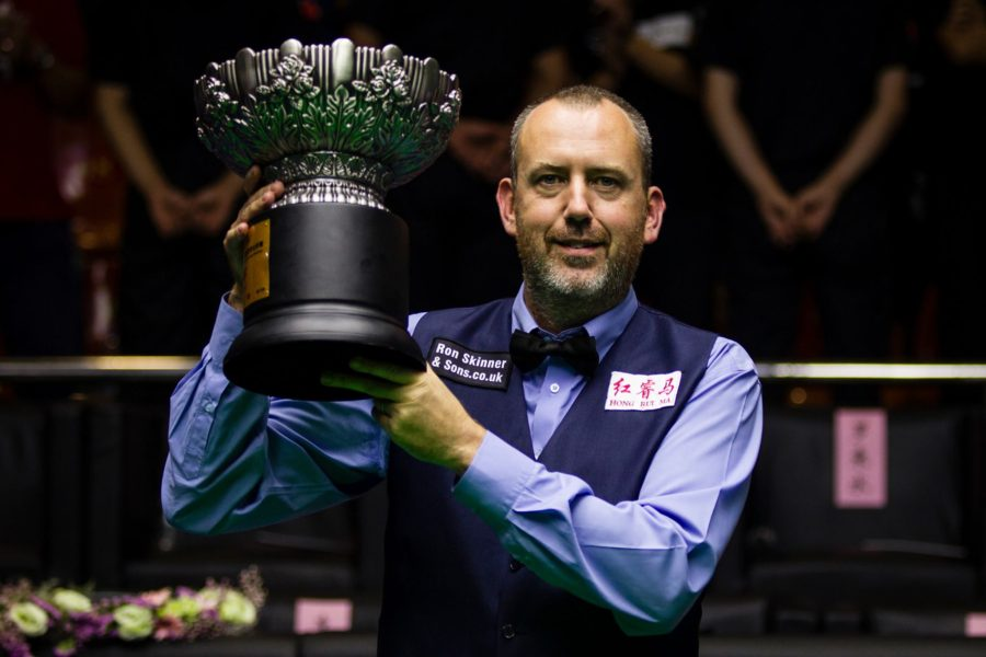 August snooker player of the month