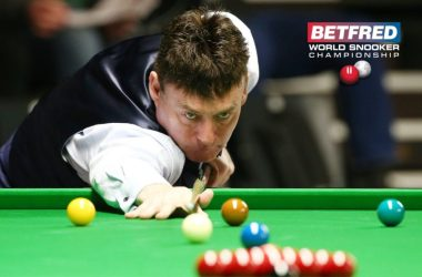 Jimmy White and Ken Doherty