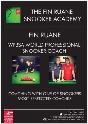 Fin Ruane Snooker Academy