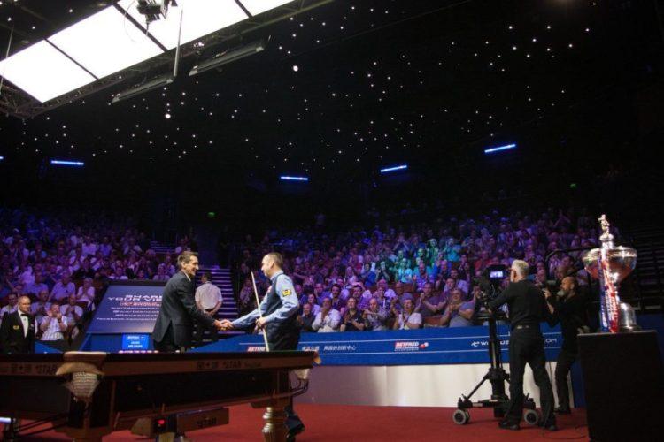 2019 World Snooker Championship Draw