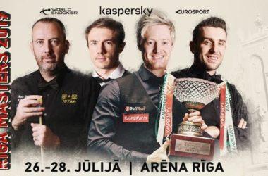 Riga Masters draw