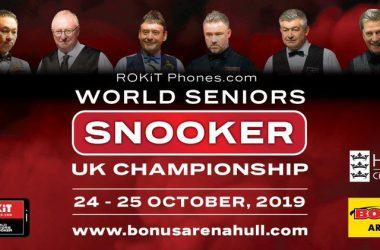 UK Seniors Championship draw