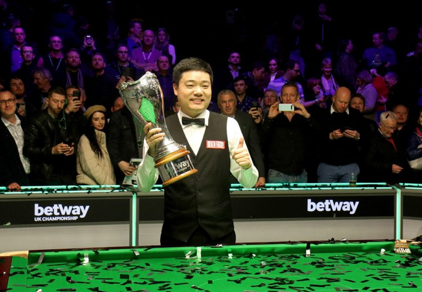 2020 UK Championship draw