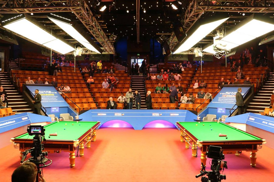 World Snooker Championship seeding