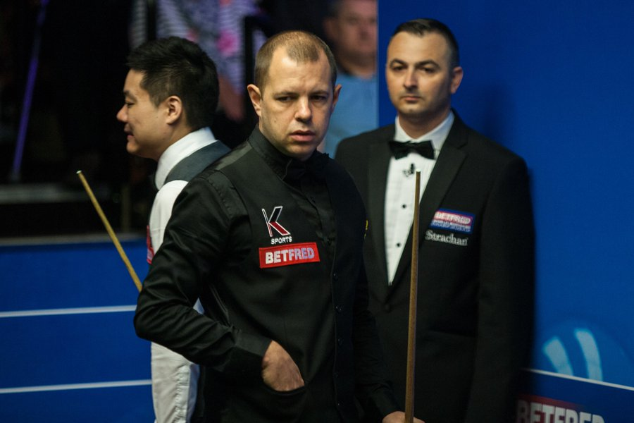 snooker order of play