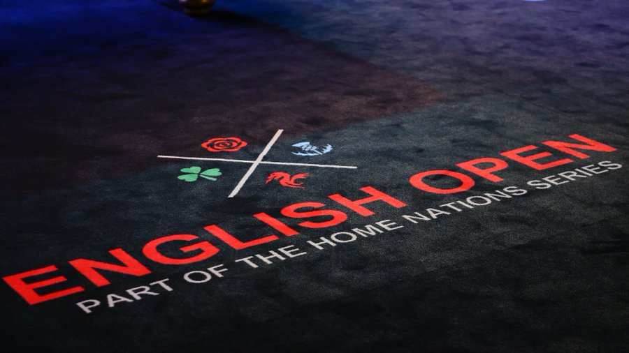snooker English Open qualifiers
