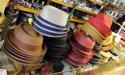 new gents' straw hats