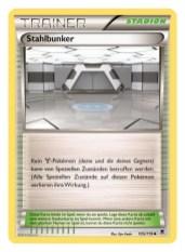 Trainer-Karte Stadion: Stahlbunker