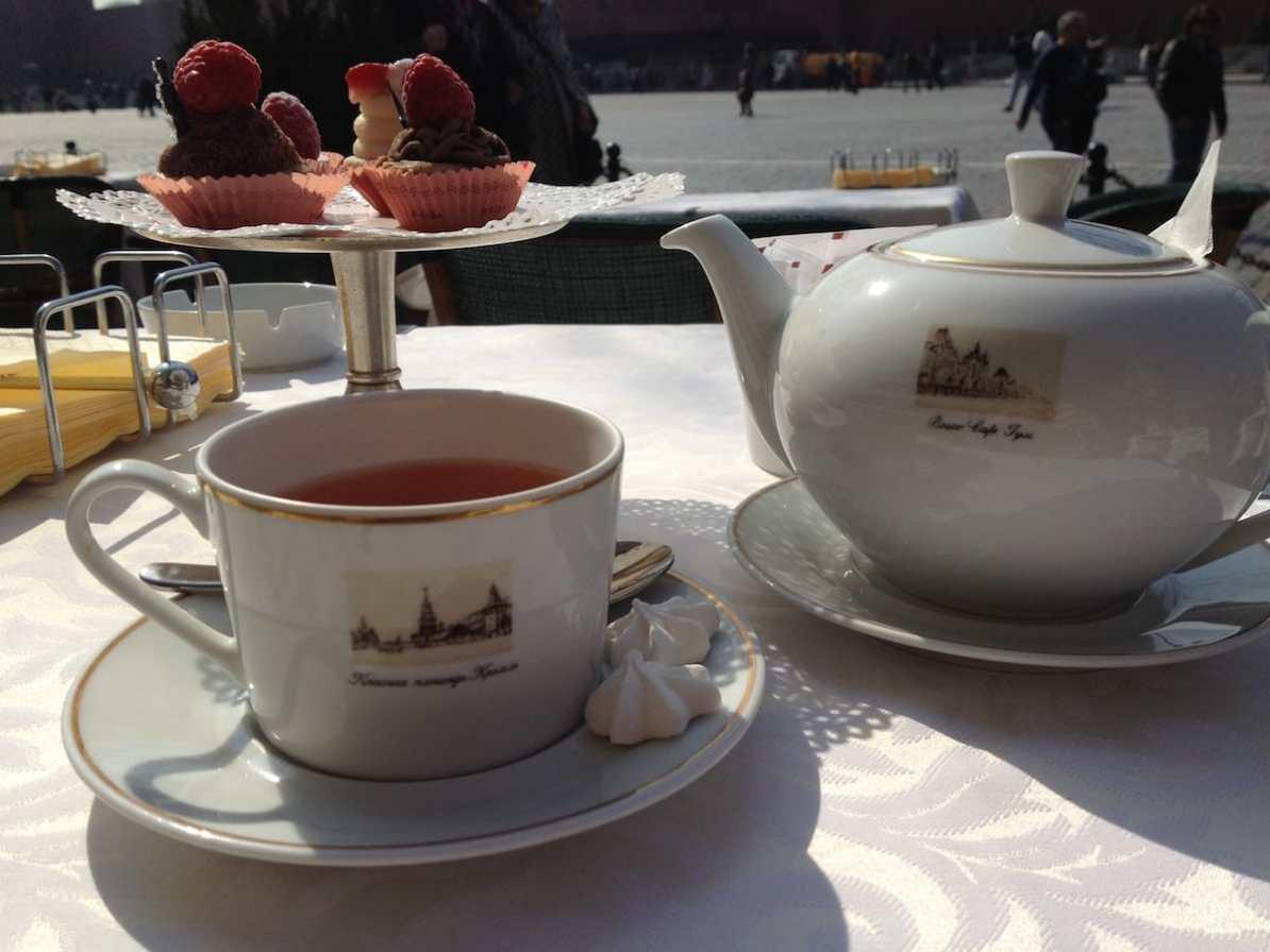 Tea at the Bosco Café