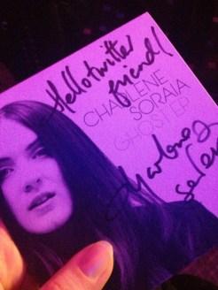 """EP """"Ghost"""" von Charlene Soraia"""