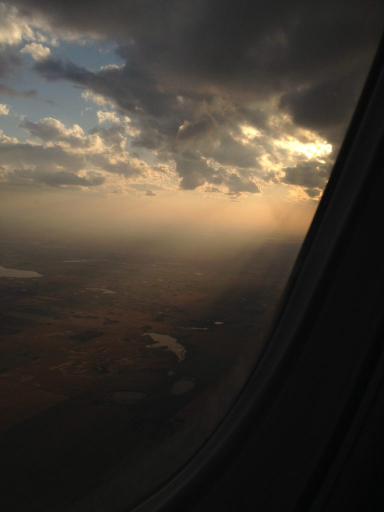 Saskatchewan from above