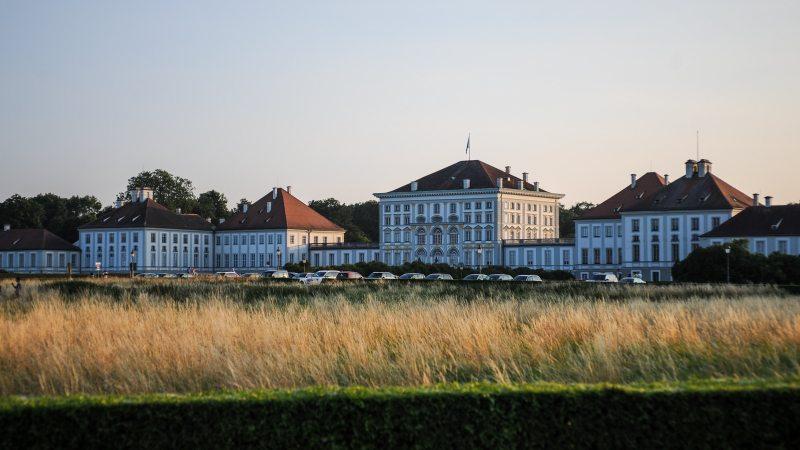 Schloss Nymphenburg in der Abendsonne