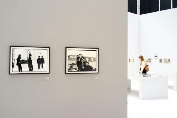 Beatles-Fotos in der Leica-Ausstellung, Foto: S. Bierwald (Indeed Photography)