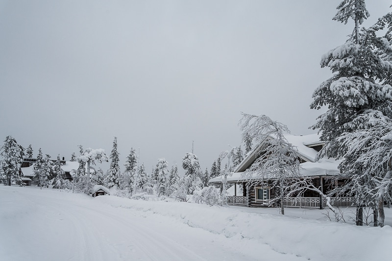 Irgendwo zwischen Levi und Kittilä in Lappland