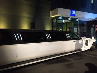 Stretchlimousine, ibis Hamburg City