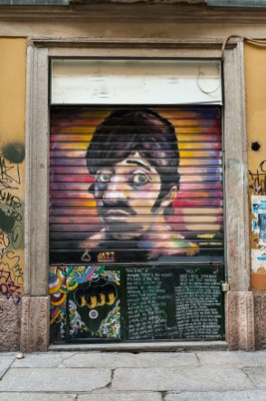 Streetart Ringo Star Die Beatles Collection am Sergeant Pepper's