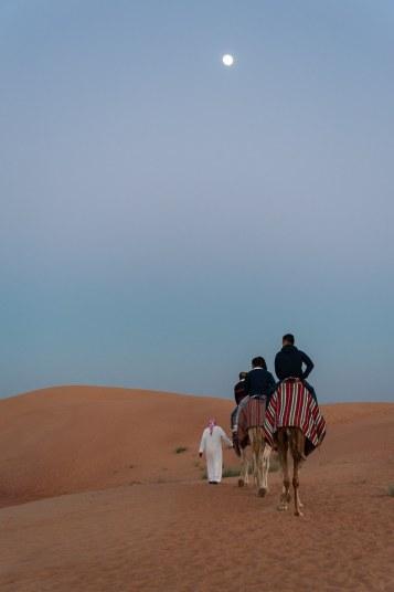 Kamelreiten am Beduinencamp